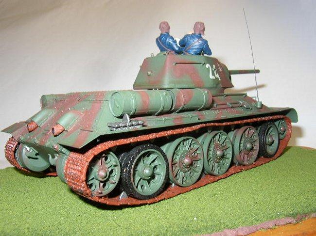 1/35 Tamiya T-34/76 by Rick Reinbott