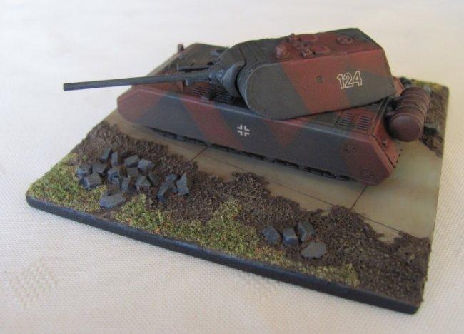 1 144 dragon maus german super heavy tank by michael madmike johnson. Black Bedroom Furniture Sets. Home Design Ideas